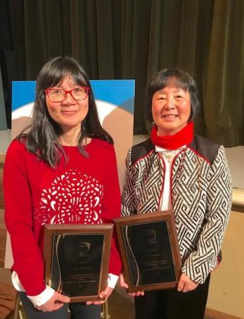 SOAR Medal 2017 Recipients: Avvy Yao Yao Go and Lilian Ma