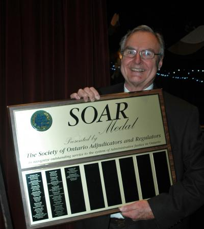 Bob Butterworth - 2014 SOAR Medal Recipient
