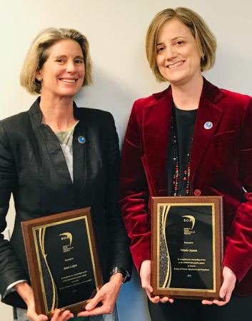 Janet Leiper and Valerie Jepson SOAR Medal 2018