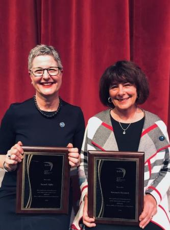SOAR Medal 2019 Recipients Susan E Opler and Emanuela Heyninck